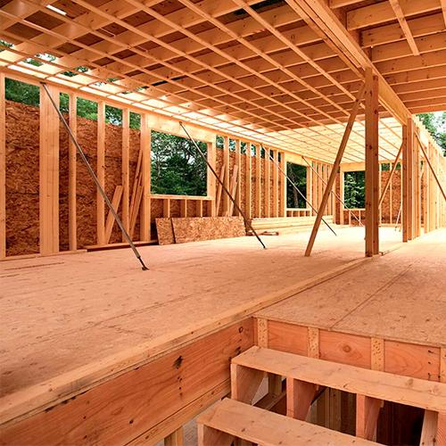 panneau osb construction bois