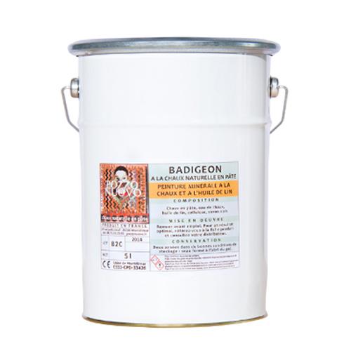 badigeon chaux huile de lin