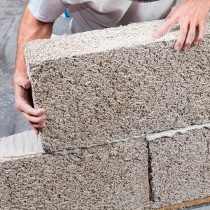 brique de chanvre