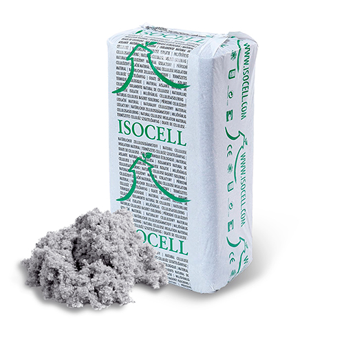 isolant écologique ouate isocell