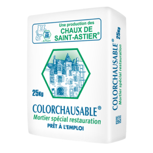 enduit colorchausable