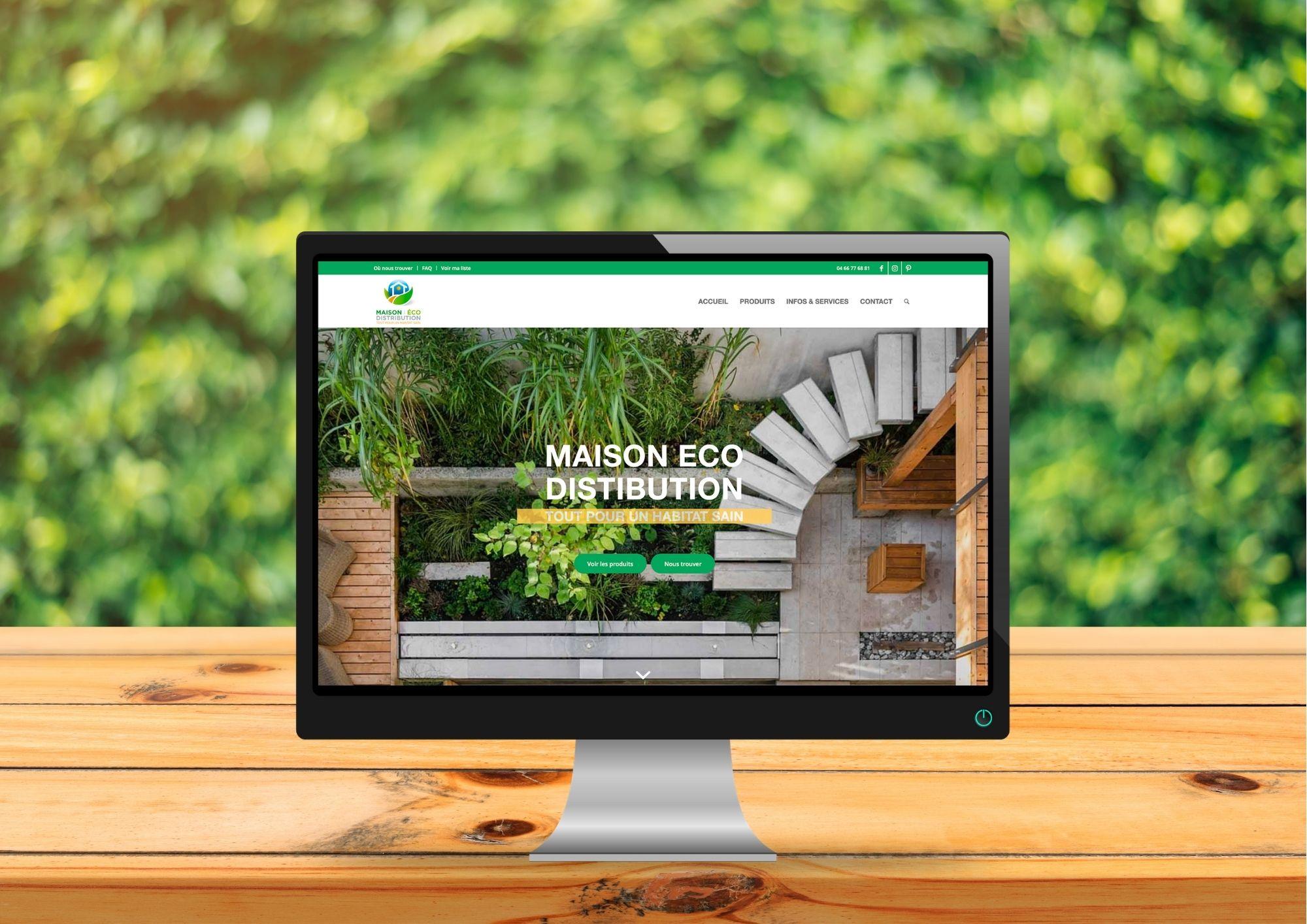 Nouveau site maison eco distribution